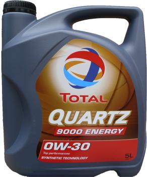 Motoröl TOTAL Quartz 9000 Energy 0W-30 - 5 Liter